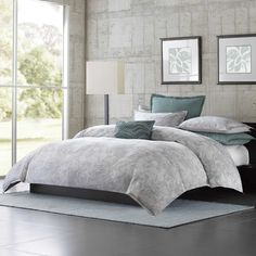 Found it at AllModern - Marble 3 Piece Comforter Set