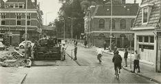 De Korreweg nabij de Rodeweg, gezien naar het zuidwesten 1965 - Foto's SERC