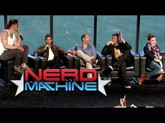 Haven Highlights: Conversation with the Cast - Nerd HQ (2013) HD - Emily Rose