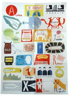 International Phonetic Alphabet Poster — Laura Knight. Just ordered this for Baby B's room!