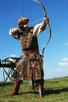 Mongol Archer - Not sure as to what time period (it could be traditional)...but awesome nonetheless.