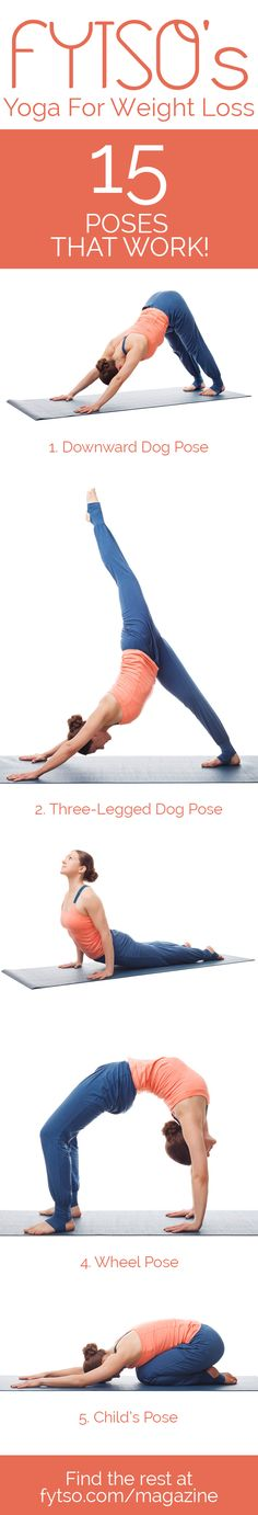 Yoga is about more than stretching and achieving a sense of calm. Yoga for weight loss is officially a thing.