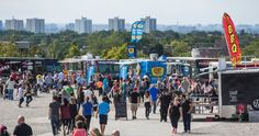 Funnel Cake Express serving up a storm at the Food Truck Fest at Downsview Park Food Truck, Trucks, Park, Travel, Viajes, Mobile Food Cart, Traveling, Parks, Truck