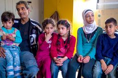 Jesuit Refugee Service | USA | Helping the vulnerable in Syria's conflict | Families flee Syria to protect their children