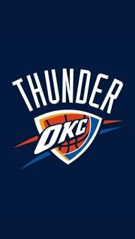 Oklahoma City Thunder Two Pocket Portfolio