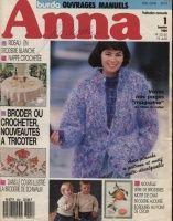 ANNA BURDA zabawa Handarbeiten 1989 1