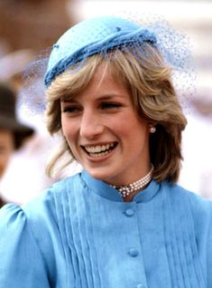 March 24, 1983: Princess Diana in Deakin, Canberra during the 6 six week tour of Australia & New Zealand.