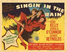 Lobby Card from the film Singin' In The Rain