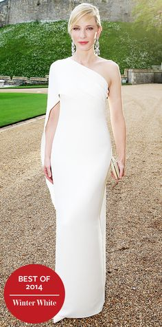 Look of the Day - December 26, 2014 - Cate Blanchett in Ralph Lauren Collection from #InStyle