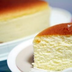 Cotton soft japanese cheesecake recipe in 2018 dessert pinte No Bake Desserts, Just Desserts, Delicious Desserts, Dessert Recipes, Yummy Food, Japanese Cheesecake Recipes, Japanese Fluffy Cheesecake, Japanese Recipes, Let Them Eat Cake