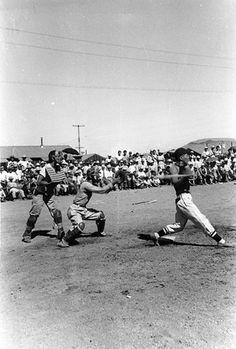 Baseball at Tule Lake Internment Camp