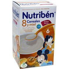179226 Nutriben 8 Cereales con Miel y Frutos Secos - 600 gr