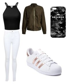 """""""Untitled #48"""" by zain-mjalli on Polyvore featuring Miss Selfridge, adidas, Sans Souci and Mr. Gugu & Miss Go"""