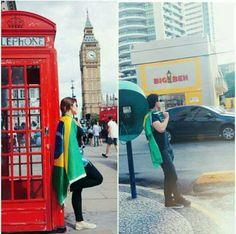 A Londres deles e a nossa.