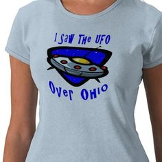 UFO over Ohio Tee Shirt