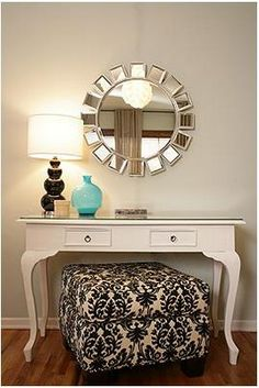 Living Beautifully...One (DIY) Step At A Time: Vanity Table?