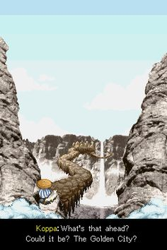 Mystery Dungeon: Shiren the Wanderer Nintendo DS Could it be The Golden City?