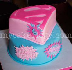 Pink Supergirl Cake | Flickr - Photo Sharing!