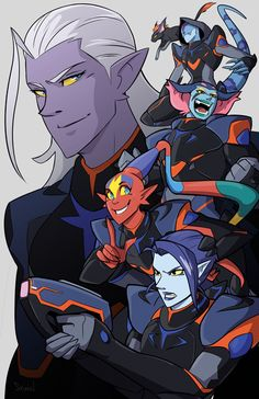 Lotor and his gals