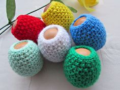 Set of 6 Egg Cozy Easter Egg Cover Easter by MyRainbowColors