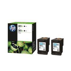 We carry a comprehensive range of product from originals to compatibles across the full range of printer inks and toners. Epson, Brother, Canon, Hewlet Packard, Lexmark and many more. We pride ourselves with being in an in stock situation on most products, and offer a next day delivery service on all orders received before 4.00PM. Hp 301 XL Black Ink Cartridge Xl Original Twin pack for €54.99 ONLY at InkCartridgesIreland Black Ink Cartridge, Inkjet Printer, Epson, Packing, The Originals, Twin, Brother, Pride, Delivery