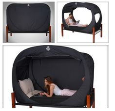 Privacy Pop!  Blackout tents...Why didn't we have these frosh year?! @Kate Valeri