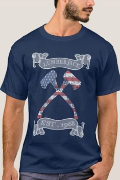 Woodworking For Beginners Wood Work Lumberjack Tee Shirt Est. 1988 Age 30 - independence day of july american holiday usa patriot - Presents For Best Friends, Presents For Boyfriend, Birthday Gifts For Boyfriend, Woodworking For Kids, Beginner Woodworking Projects, Funny Gifts For Men, Gifts For Dad, Funny Shirts, Tee Shirts