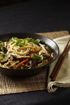 "<html><body>Hi, I thought you might like this recipe from <a href=""https://itunes.apple.com/app/id903911740?mt=8&uo=4&at=1l3vn6s"" style=""text-decoration:none;color:#d5302a;"">Forks Over Knives - The Recipes</a>: <h2><strong>Thai Noodle Soup</h2></strong> <h3><strong>Ingredients</h3></strong> <ul><li>1 medium yellow onion </li><li>1 medium carrot </li><li>6 oz shiitake mushrooms </li><li>3 cloves garlic </li><li>1 tbsp minced ginger </li><li>2 cups bok choy </li><li>4 cups low-sodium vegetable…"