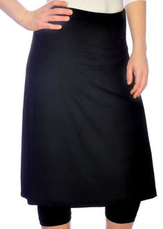 8b744ebba2 For ultimate coverage while swimming or running, try the Kosher Casual  Running and Swim Skirt