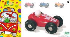 Mini voiture de course - Rouge Vilac - Vilac