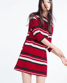 Image 3 of JACQUARD DRESS from Zara
