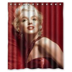 love this shower curtain!!  Marilyn Monroe Room Decor for Your Home