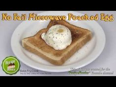 Eggs Poached - Easy, Quickly in the Microwave - Everybody Loves Life