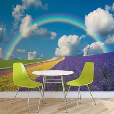 Huge Floral Rainbow Photo Wallpaper Mural £44.99 - £54.99 This colourful Photo Wallpaper Mural is available in several different sizes Made to order, using the highest quality machines & materials 115g/m2 Paper Packaging Dimensions (cm) 118 x 10 x 10 Please allow 14 days delivery Free uk delivery only @ www.totsrus.site