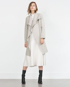 HAND MADE COAT-Coats-Outerwear-WOMAN | ZARA United States