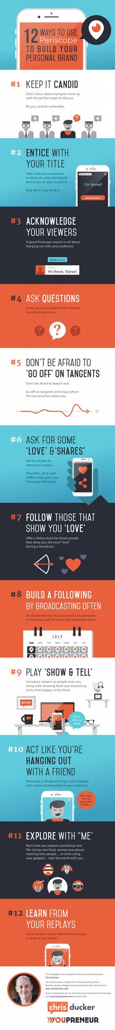 12 Ways to Use Periscope to Build Your Personal Brand