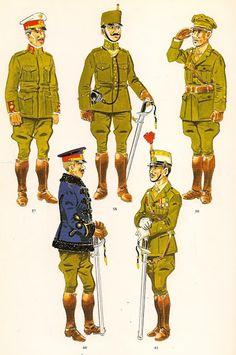 Nº 57.- Comandante de uniforme de diario en Africa. 1910-14…