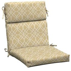 Hampton Bay - Roux Sandollar High Back Chair Cushion - JC16062L-9D6 - Home Depot Canada $34.98 Ornamental Mouldings, High Back Chairs, Kitchen Cabinet Organization, Cabinet Space, Base Cabinets, Chair Cushions, Quebec, Home Depot, Accent Chairs