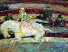 Pierre Bonnard : L'Ecuyère (1897)                                                                                                                                                                                 Plus