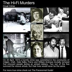 "The Hi-Fi Murders. A horrific crime - ""The effect the drano had on the victims was to immediately blister and burn their lips, tongues and throats, peeling the flesh away from their mouths.""... http://www.theparanormalguide.com/blog/the-hi-fi-murders"