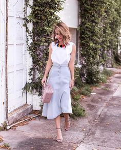 "1,587 Likes, 48 Comments - Stephanie @ The Style Bungalow (@thestylebungalow) on Instagram: ""When putting outfits together, I always think about proportions. I use certain pieces to accentuate…"""