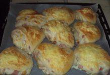 Recepty - Strana 10 z 100 - Vychytávkov Food Tasting, Canapes, Bakery, Muffin, Bacon, Favorite Recipes, Bread, Cheese, Chicken