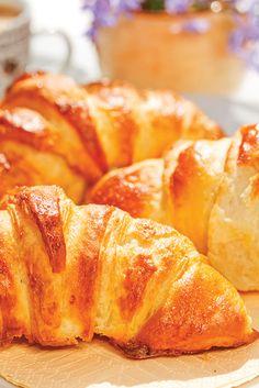 Croissant con Doratura all'Uovo Spray della Nonna