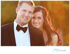 Wedding in Dallas Texas, Dallas wedding photographer, Sunset setting with backlighting, J May Photo