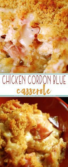 Chicken cordon bleu casserole recipe chicken cordon bleu chicken cordon bleu casserole forumfinder Gallery