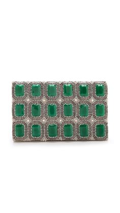 alice + olivia Beaded Clutch
