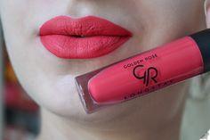 Koma Bunny: Golden Rose Liquid Matte Lipstick // REVIEW