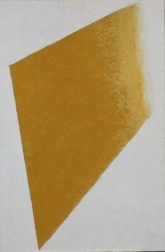 Kazimir Malevich: Verdwijnend geel vlak, 1917–1918, Stedelijk Museum Amsterdam