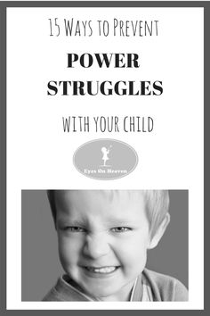 15 positive parenting strategies to help avoid unnecessary clashes with your child!
