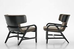 Fabric easy chair with armrests FULGENS by Maxalto, a brand of B&B Italia Spa design Antonio Citterio Space Furniture, Modern Furniture, Home Furniture, Furniture Design, Muebles Art Deco, Contemporary Armchair, Traditional Sofa, Lounge Seating, Lounge Chairs